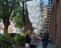 vorbereitung von ballons und gopro