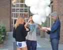 ballons werden verschnürrt